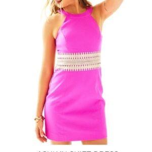 Lilly Pulitzer Magenta Pink Ashlyn Shift Dress